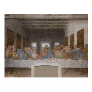 Cartão Postal A última ceia por Leonardo da Vinci