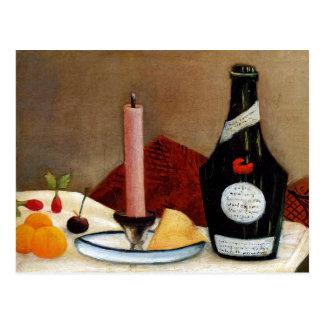 Cartão Postal A vela cor-de-rosa por Henri Rousseau