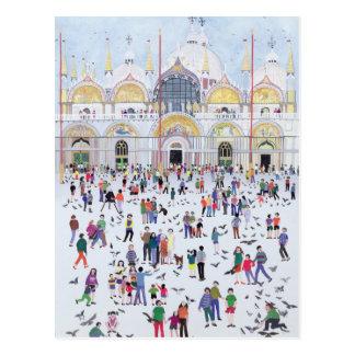 Cartão Postal A Veneza 1994 de St Mark