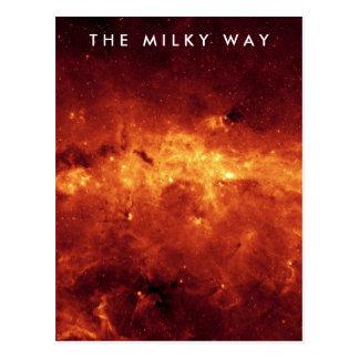 Cartão Postal A Via Láctea