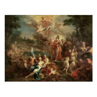 Cartão Postal A visão de Aeneas nos campos Elysian