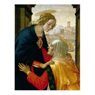 Cartão Postal A visitação, 1491