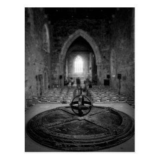 Cartão Postal Abadia de Iona