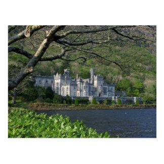 Cartão Postal Abadia de Kylemore no Connemara Ireland