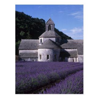 Cartão Postal Abadia de Senanque, Gordes, Vaucluse, Provence, 2