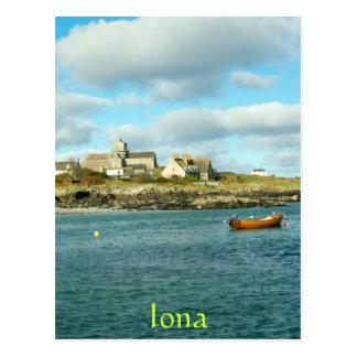 Cartão Postal Abadia Scotland de Iona