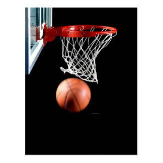 Cartão Postal Abanada, basquetebol através da rede
