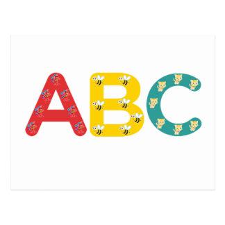 Cartão Postal ABC por PaddleDuck