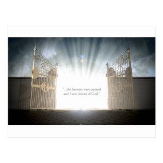 Cartão Postal Abertura das portas dos céus