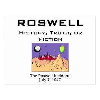 Cartão Postal ABH Roswell