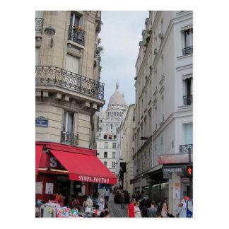 Cartão Postal Abóbada da basílica de Sacre Coeur, Paris