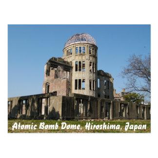 Cartão Postal Abóbada da bomba atômica, Hiroshima, Japão