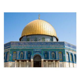 Cartão Postal Abóbada da rocha Jerusalem