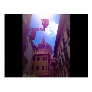 Cartão Postal Abóbada de Brunelleschi em Florença, Italia