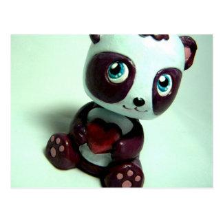 Cartão Postal Abraço da panda mim