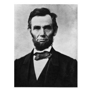 Cartão Postal Abraham Lincoln