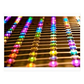 Cartão Postal Abstracção do diodo emissor de luz