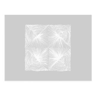 Cartão Postal abstract geometric