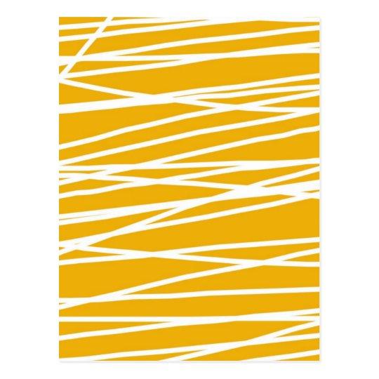 Cartão Postal Abstract yellow