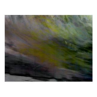 Cartão Postal Abstrato orgânico #1455