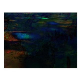 Cartão Postal Abstrato orgânico #146