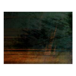 Cartão Postal Abstrato orgânico #1466