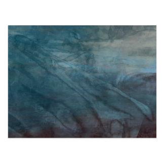 Cartão Postal Abstrato orgânico #1469