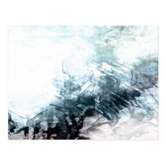 Cartão Postal Abstrato orgânico #1470