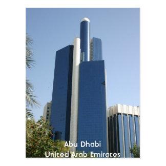 Cartão Postal Abu Dhabi United Arab Emirates