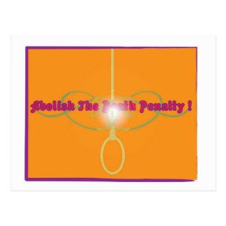 Cartão Postal Abula a pena de morte!
