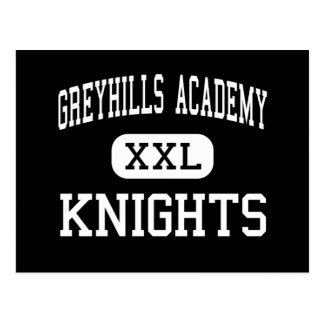 Cartão Postal Academia de Greyhills - cavaleiros - alta - cidade