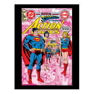 Cartão Postal Ação história em quadrinhos #500 outubro de 1979