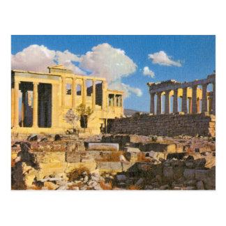 Cartão Postal Acrópole