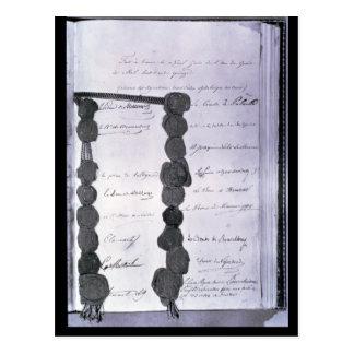 Cartão Postal Act final estabelecido no congresso de
