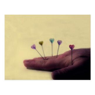 Cartão Postal Acupunctura do amor