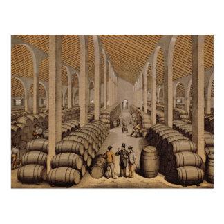 Cartão Postal Adega de vinho em Jerez de la Frontera