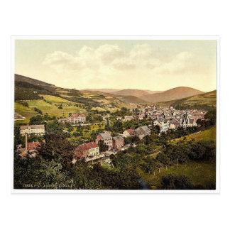 Cartão Postal Adenau, Ahrthal (isto é, Ahrtal), o Rhine,