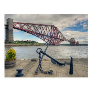 Cartão Postal Adiante ponte