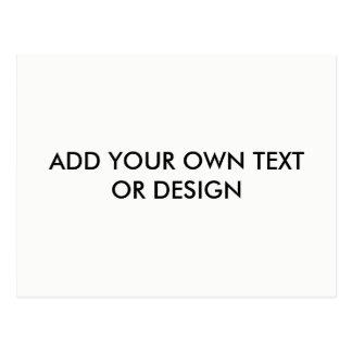 Cartão Postal Adicione seu próprio texto ou o design,