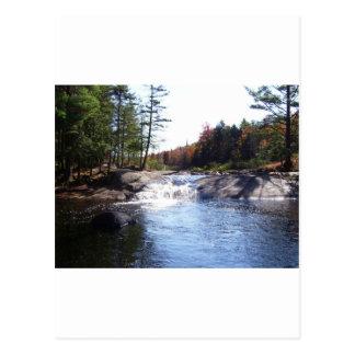 Cartão Postal Adirondack do norte do estado New York