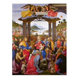 Cartão Postal Adoração do degli Innocenti de Ospedale dos Magi