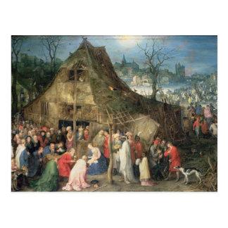 Cartão Postal Adoração dos Magi, 1598