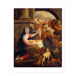 Cartão Postal Adoração dos pastores