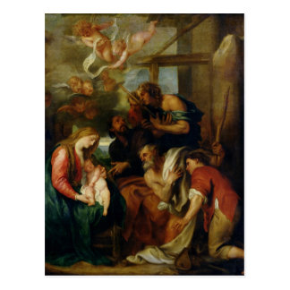 Cartão Postal Adoração dos pastores 2