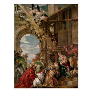 Cartão Postal Adoração dos reis, 1573