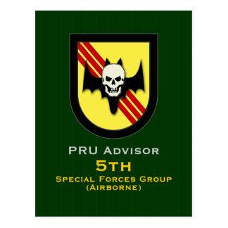 Cartão Postal Adv 3 de PRU