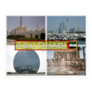 Cartão Postal AE United Arab Emirates - Abu Dhabi -