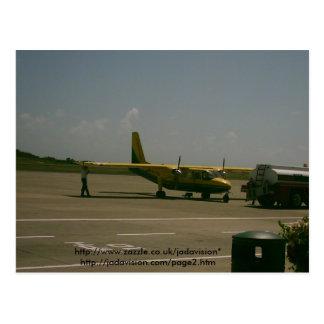 Cartão Postal Aeroporto de Grenada