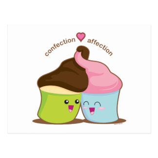Cartão Postal Afeição do doce
