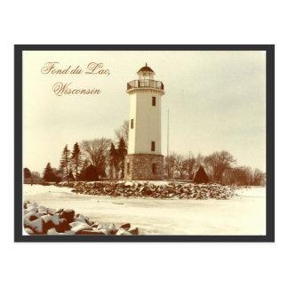 Cartão Postal Afeiçoado du Laca Farol